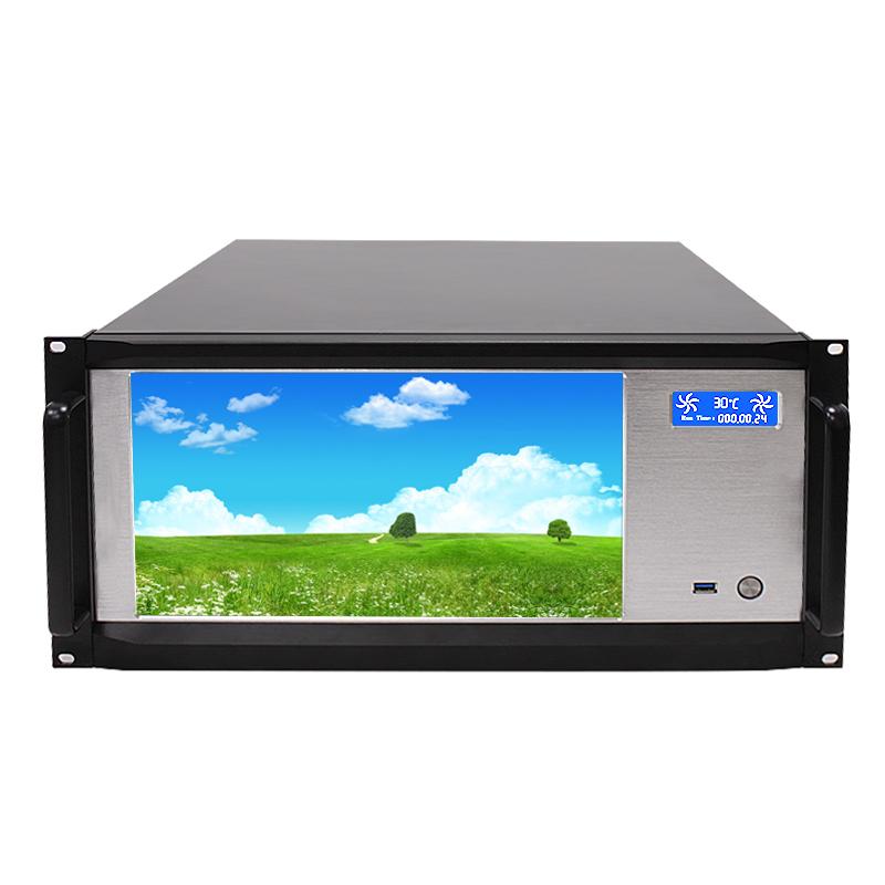 5U 13.3寸触控液晶屏服务器机箱