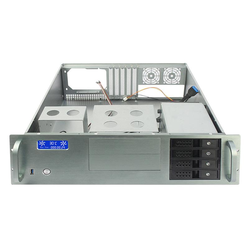 4U工控服务器,4个热插拔带温