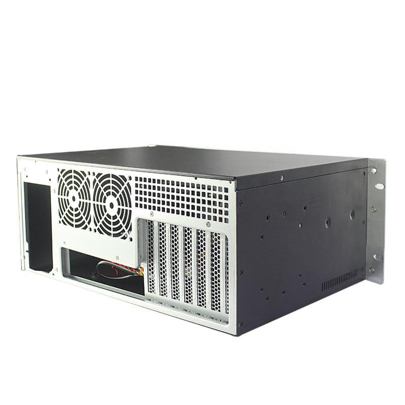 4U工控机箱科技面板,300MM深,5个