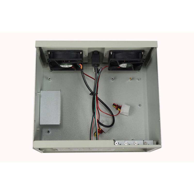 4槽壁挂式机箱 MicroATX/ATX母板